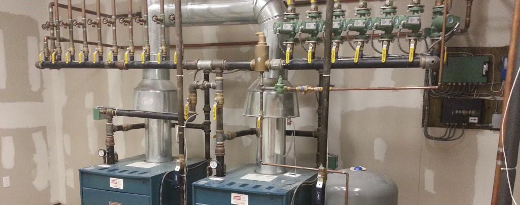 Custom Gas Boiler Installation